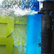 Aquarium Mini Black 3 in 1 Internal Filter Pump £7.99 24 HOUR DISPATCH FROM U.K.