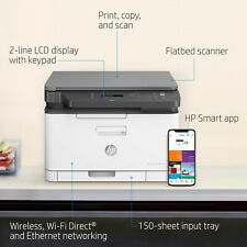 HP MFP 178nw All-in-One Wireless Laser Printer - Currys