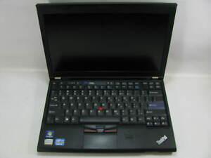 """Lenovo X220 14.0"""" Laptop 2.5 GHz i5-2520M 4GB RAM (Grade C No Battery, Webcam)"""