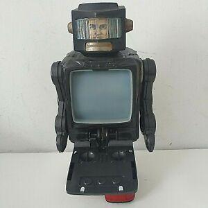 HORIKAWA Space Explorer TV Robot Tin Toy Tin Toy Japan Spares / Repairs