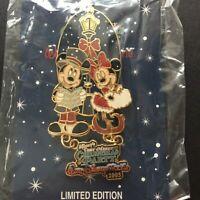 WDW Very Merry Christmas Party 2005 Mickey Minnie Caroling HTF Disney Pin 43146