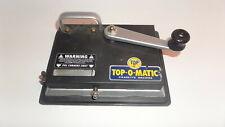 Cigarette rolling machine, Top-o-matic (SH6)