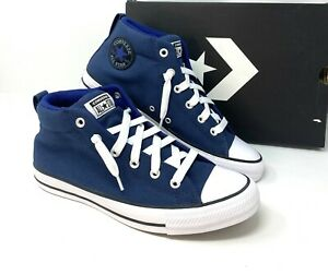 Converse Chuck Taylor STREET MID Navy Men's Sneakers 144642F