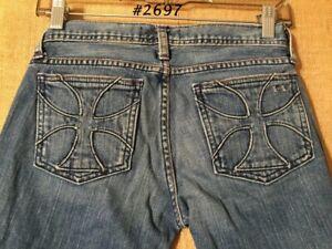 Habitual NY LA size 28 inseam 30 imported fabric low rise boot cut 70% cotton 30