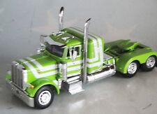 GREEN PETERBILT 379 SMALL BUNK DAY CAB 1/64 DCP DIECAST
