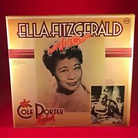 ELLA FITZGERALD Sings The Cole Porter Songbook 1981 UK vinyl LP EXCELLENT CONDIT