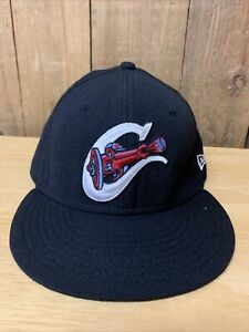 Calgary Cannons New Era 5950 Hat Cap Size 7 1/4 Made In USA MiLB Minor League