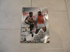 2003 FA CUP FINAL SOUTHAMPTON VS ARSENAL SOUVENIR MAGAZINE