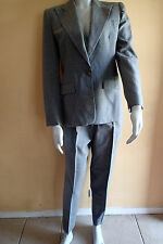 ralph lauren sz 4,WOOL,PLAID,GRAY  BLAZER, Ladies SUIT Jacket,pants, AC