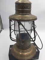 Universal Metal Spinning & Stamping Co Brass Antique Lantern