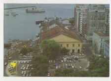 Brazil Salvador Praca Visconde de Cairu e Mercado Modelo Postcard 780a