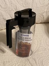 New listing Takeya Patented Deluxe Cold Brew Iced Coffee Maker with Airtight Lid 1 Quart