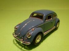 HONGWELL 1:43 VW VOLKSWAGEN KAFER BEETLE - BLUE - RARE SELTEN - VERY GOOD