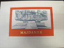 DDR Gedenkblatt Format A5, Majdanek