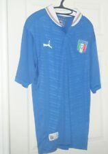 Italy Puma National Soccer Football Team short sleeve jersey Men's Xl Used