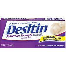 Desitin Diaper Rash Paste 2 oz. Tube Ointment Unscented 1 Count