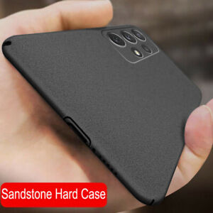 Case For Samsung A52 A72 S21 Ultra S20FE Ultra-thin Frosted Hard Sandstone Cover