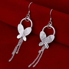 ASAMO Ladies Earrings Butterfly Earrings 925 Sterling Silver Plated O1224