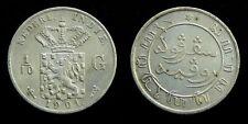 Netherlands Indies - 1/10 Gulden 1901 Fraai+ ~ Scho. 831