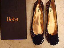 Size 9 M Lot of 2 Pairs of Womens Shoes Reba & Alex Marie  NIB