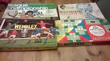 Collection of Four Football Related Board Games