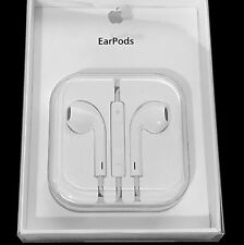 White Apple iPhone 5 6 iPod Stereo Earbuds EarPods Headphones w/ Remote & Mic
