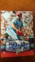 2004 SPARKY LYLE Auto  SP #196 UD Timeless Teams  Short Print  !