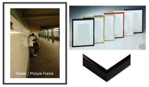 Large Photo Picture Frame 32 x 50 Complete  Cardboard Backing,Hardware,Acrylic