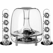 HARMAN KARDON SOUNDSTICKS WIRELESS BLUETOOTH 3-PIECE MULTIMEDIA SPEAKER SYSTEM
