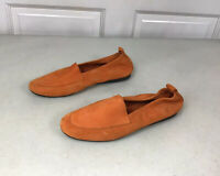 ARCHE Suede Loafers Shoes Nubuck Leather Women's 7