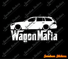 Lowered WAGON MAFIA sticker - for BMW E61 M5 Touring 5-series