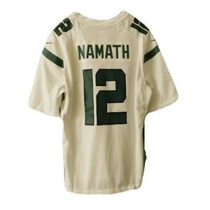 Nike Men's Joe Namath New York Jets 🏈Jersey Sz. S NEW 913125-106 #12 HOF