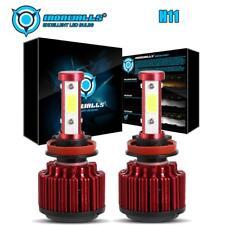 H11 H8 H9 4-sides LED Headlight Convertion Kit Low Beam Bulb Super Bright 6000K