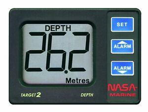NASA Marine Target 2 Echolot Tiefenmesser mit Geber für Boot Tiefwasseralarm