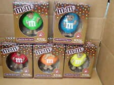 M&M'S MARS 2005 SET OF 5 DIFFERENT COLORS BOYDS BEARS ALL MINT IN BOXES