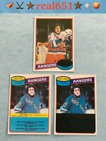 1980 O-Pee-Chee Topps PHIL ESPOSITO Lot x 3 Vintage | Pretty Sharp Centered HOF
