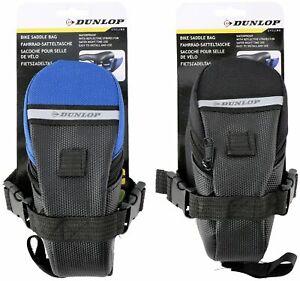 Dunlop Saddle Bag 1 Litre Capacity Blue/Black
