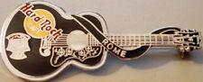 Hard Rock Cafe ROME ITALY 1998 ELVIS PRESLEY Black GUITAR PIN Dead Rocker #62926