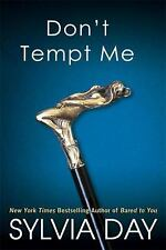 Don't Tempt Me-Sylvia Day-Georgian novel #4-erotic romance-trade sized paperback