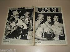 OGGI=1956/24=MYRA VALDO=DENISE LABBE VENDOME=ALTHEA GIBSON=GUIDO GUIDA=