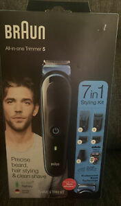 MGK5245 braun 7-in-1 Beard, Hair, Detail Trimmer, Rechargeable, NEW
