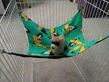 """Ferret Flannel Hammock - Daffy Duck - 14"""" x 15"""" 00006000"""