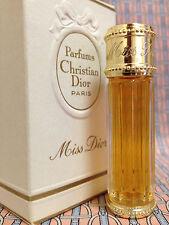 Vintage LIMITED 1970 Miss Dior FULL 1/4 oz 7.5 ml Pure Parfum Dior OLD FORMULA
