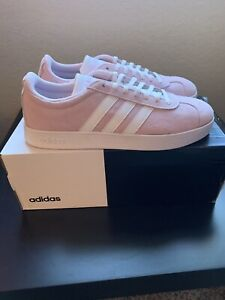 Pink Adidas VL Court 2.0 Womens Size 8.5