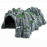 Model Railway Train Tunnel Cave Model 1:87 Scale Miniature Ho Gauge Track Tunnel