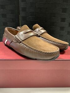 Bally Leather/Suede Drivers Loafer UK6 (M)