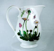 "PORTMEIRION Botanic Garden CREAM/SYRUP PITCHER 5"" T Daisy 12-14 oz"
