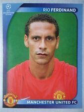 Panini 12 Rio Ferdinand Manchester United UEFA CL 2008/09