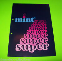 MINT SUPER NSM ORIGINAL GERMAN TEXT SLOT GAMBLING FRUIT MACHINE FLYER WERBUNG