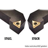 Längs Drehstahl STGCR STGCL 8x8 , 1010, 1212, 1616, 2020, 2525 Klemmhalter